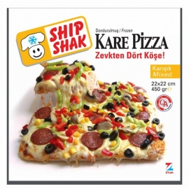 Sanpa Ship Shak Kare Pizza 450 Gr