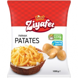 Ziyafet Parmak Patates 10*10mm 1 Kg